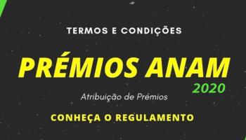 Prémios ANAM 2020 (SUSPENSO)