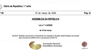 Aplicação do conteúdo da declaração de estado de emergência para os órgãos deliberativos e executivos do Poder Local
