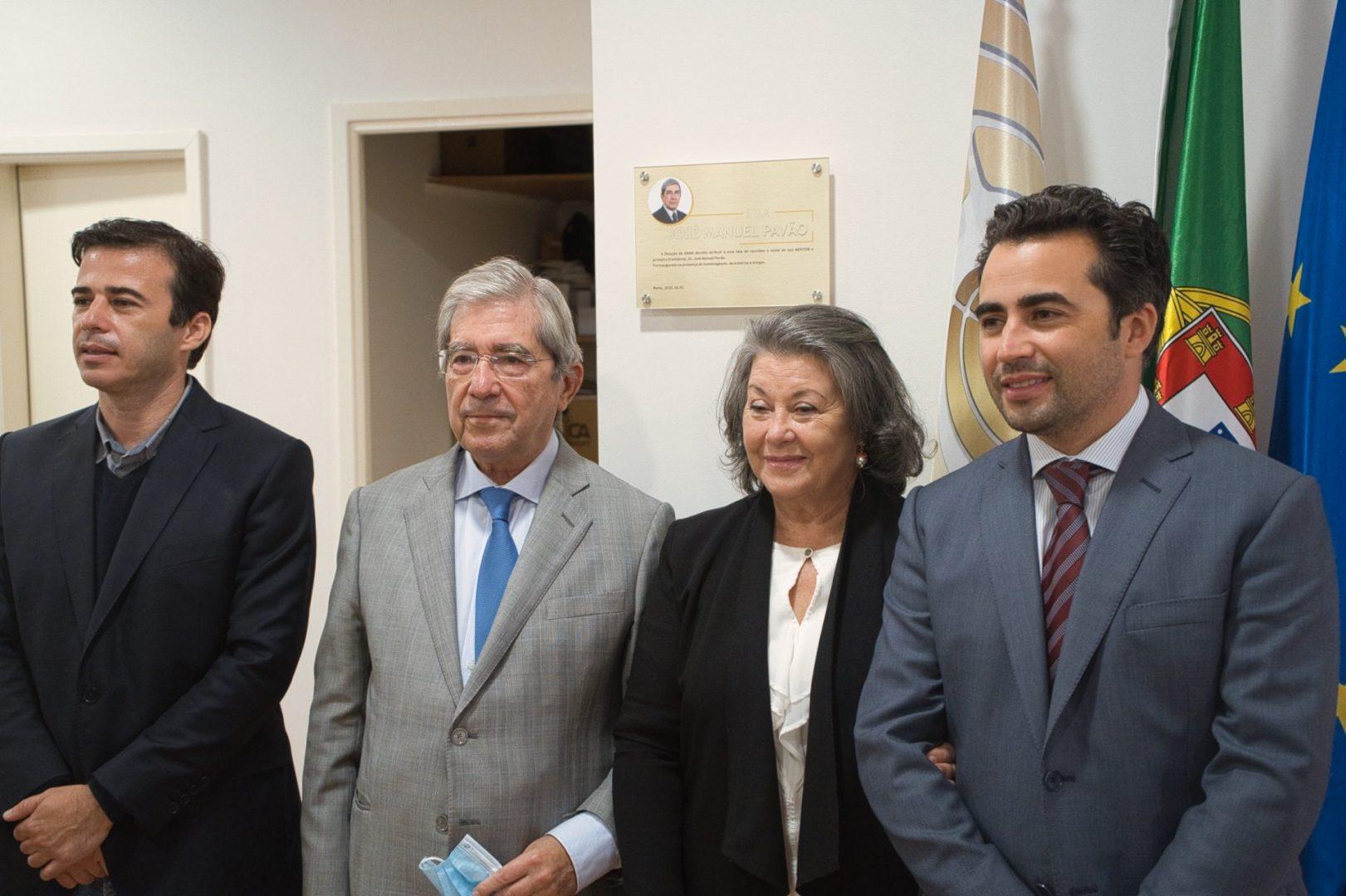 Inauguração da Sala José Manuel Pavão