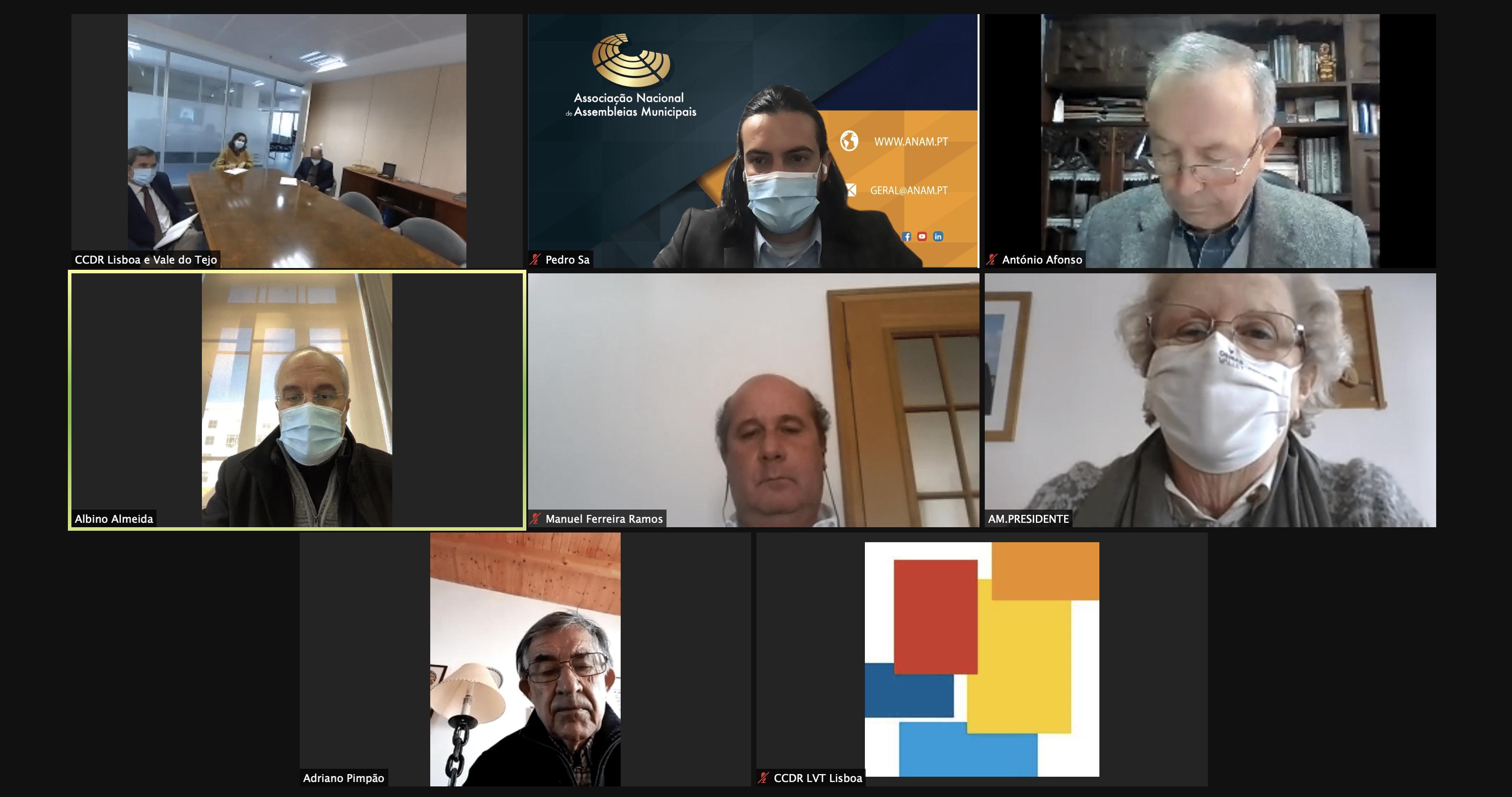 Reunião com CCDR LVT