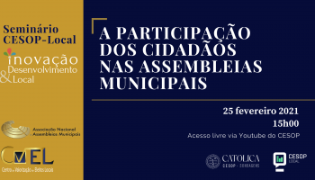 Seminário CESOP – A Participação dos Cidadãos nas Assembleias Municipais